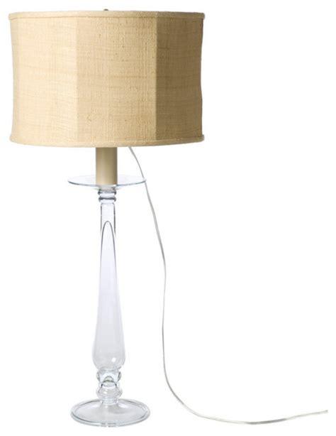 barbara cosgrove glass ls barbara cosgrove glass pillar table l modern table
