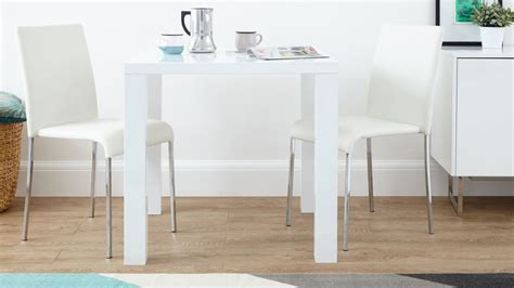 white kitchen table fern white gloss kitchen table danetti
