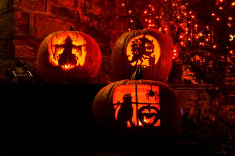 Pumpkin Faces To Carve by History Of The Jack O Lantern I Love Halloween
