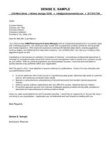 entry level medical sales resume exles cover letter for sales manager