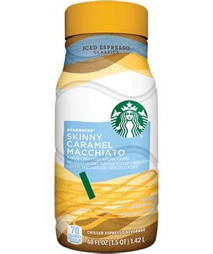 Iced Espresso Classics   Skinny Caramel Macchiato   Starbucks Coffee Company