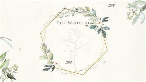 kumpulan template undangan pernikahan digital kosong