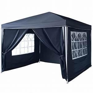 Toile Pour Tonnelle 3x3 : tonnelle pliante 3 x 3 m achat pas cher ~ Melissatoandfro.com Idées de Décoration