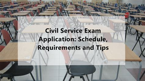 Civil Service Exam Application 2018 Schedule, Requirements And Tips
