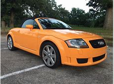 For Sale 2005 TT 32 Quattro Papaya Orange w Baseball