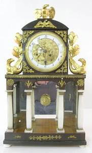 French Silk String Clock W  Mechanical Dial Price Guide