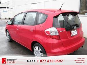 Used Honda Fit 2014 For Sale In Duncan  British