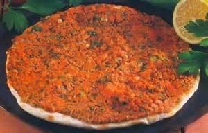 la cuisine turque manger turc la cuisine turque lahmacun pizza turque