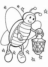 Firefly Coloring Night Starry Pages Lamp Hold Drawing Bug Lightning Clip Getdrawings Luna Printable Clipart Getcolorings sketch template