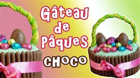 gateau de paques au chocolat facile  design avec fashion