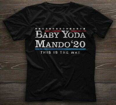 Baby Yoda 2020 mando'20 this is the way gift fan movie ...