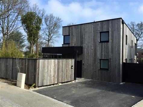 maison contemporaine bardage gris du canada