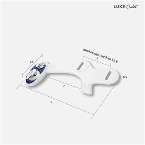 Luxe Bidet Neo 180 by Luxe Bidet 169 Neo 180 Fresh Water Bidet Toilet Attachment