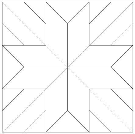 template pattern imaginesque quilt block 6 pattern and templates