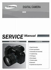 Samsung Nx30 Mirrorless Digital Camera Service Manual And