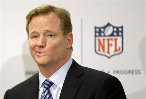 nfl commissioner roger goodell implements  domestic