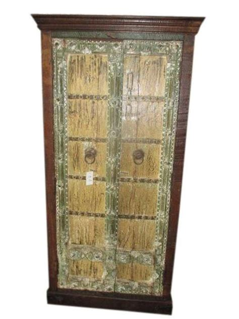 Antique Cabinet Shabby Chic Storage Armoire Indian