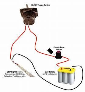 Black Paddle Toggle Switches