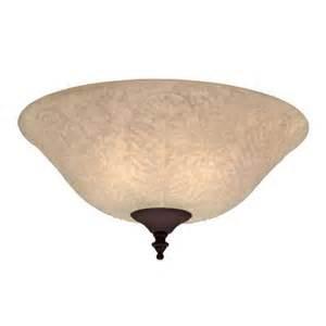 hunter 2 light tropical bowl ceiling fan light kit