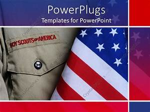 powerpoint template an american boy scouts outfit along With boy scout powerpoint template