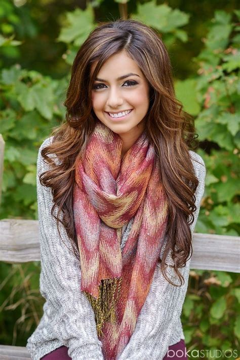hair cuts styles everything goes together the hair the sweater the scarf 8850