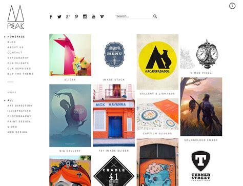 Portfolio Themes 30 Best Portfolio Themes 2016 Athemes