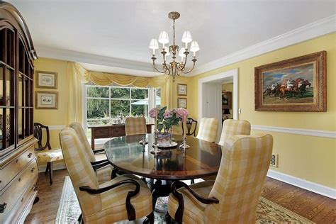 yellow dining room ideas