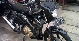 Suzuki Satria Fu 2014 Hitam 195goe