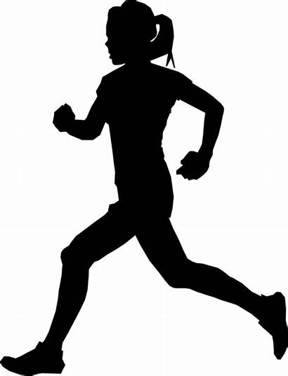 Silhouette Athlete Clipart Royalty Clip Transparent