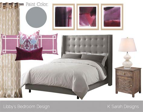 mood board feminine modern chic master bedroom