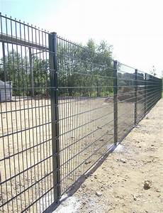 Double wire mesh fence/Pvc coated twin wire 868 fence ...