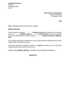 modèle de lettre pour remise de clés lettre de r 233 c 233 233 des cl 233 s et solde de tout compte