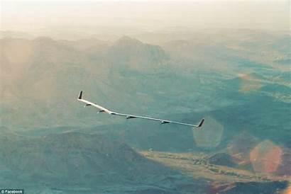 Flight Internet Plane Aquila Drone Down Taken