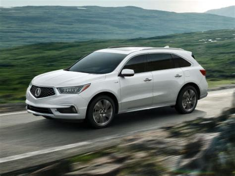 Acura Mdx Per Gallon by 2017 Acura Mdx Debuts With New Pentagon Grille