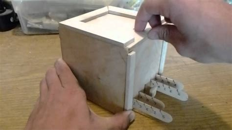 wood plan easy  wood box making youtube