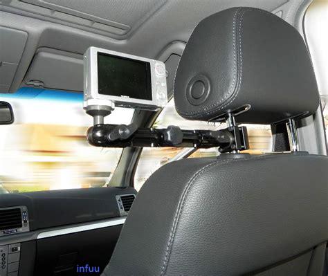 tablet halter kfz kfz kamera camcorder kopfst 252 tzenhalterung halter befestigung fotostativ infuu holders