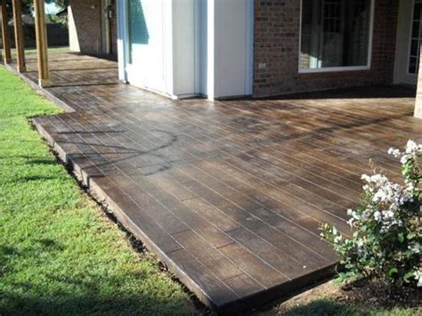 concrete that looks like wood now this is cool for the