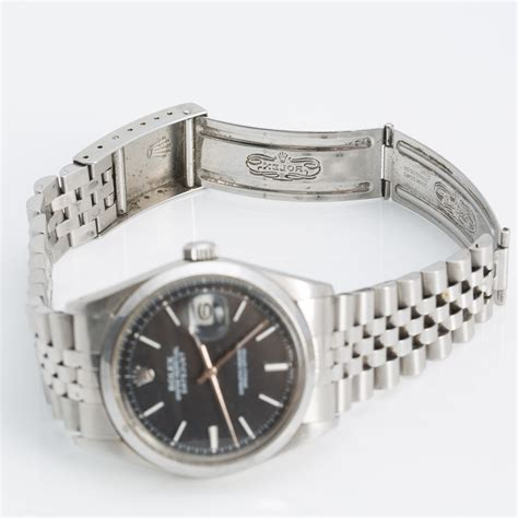 ROLEX, Oyster Perpetual datejust, wrist watch, 36 mm ...