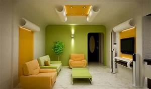 Wohnzimmer Ideen Grün : 150 coole tapeten farben ideen teil 1 ~ Lizthompson.info Haus und Dekorationen