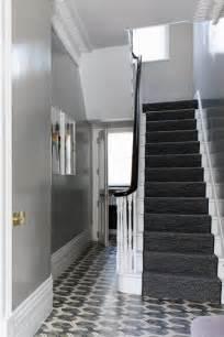 grey hallway with tile flooring hallway ideas furniture decorating houseandgarden co uk