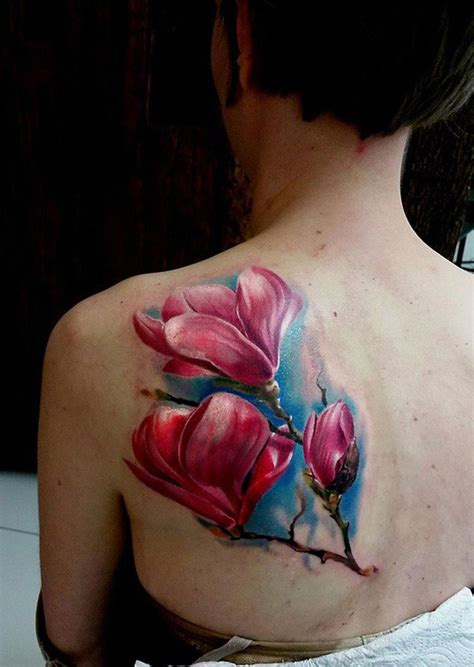 magnolia tattoos designs ideas  meaning tattoos