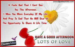 Good Afternoon Greetings Wishes with Lots of Love Quotes ...