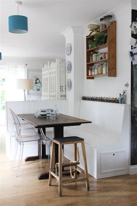 Banquettes In Kitchens by Our Diy Kitchen Banquette Growing Spaces