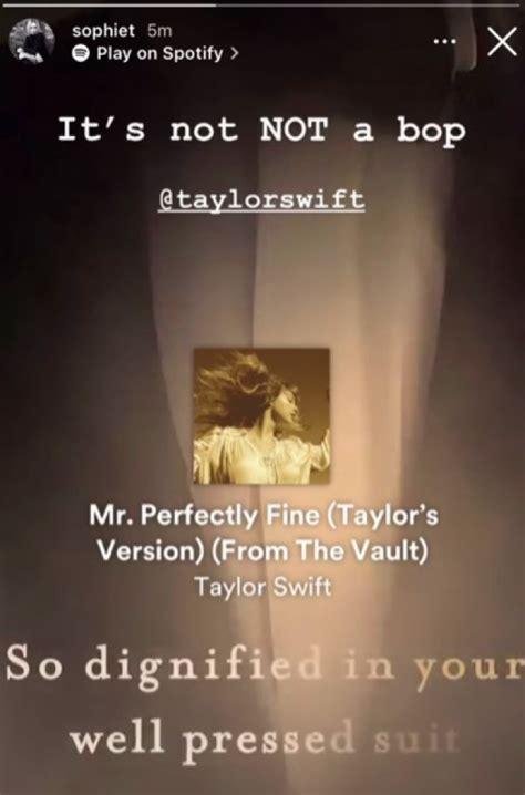 Sophie Turner aplaude la canción que Taylor Swift lanzó ...