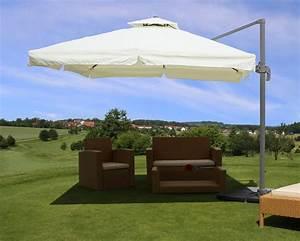 Sun Garden Schirm : st nder f r ampelschirm ampelschirm sonnenschirm sonnenschutz inklusive st nder 3 5m beige sun ~ Orissabook.com Haus und Dekorationen