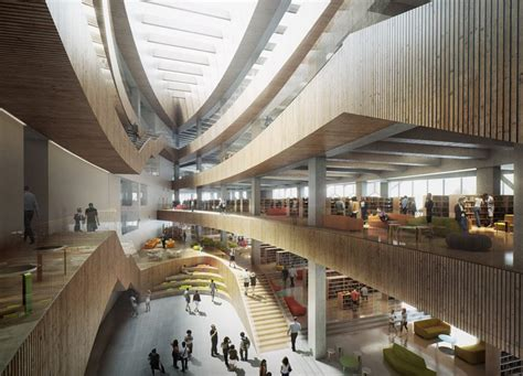 Design Revealed For Calgary New Central Library By