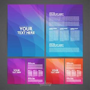 Brochures Template Free Vector In Adobe Illustrator Ai