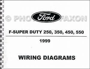 1999 Ford F550 Super Duty Fuse Box Diagram