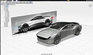 Automotive Speedform Model Autodesk Online Gallery