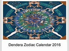 Dendera Zodiac Calendar 2016 by httpblogtrygodorg